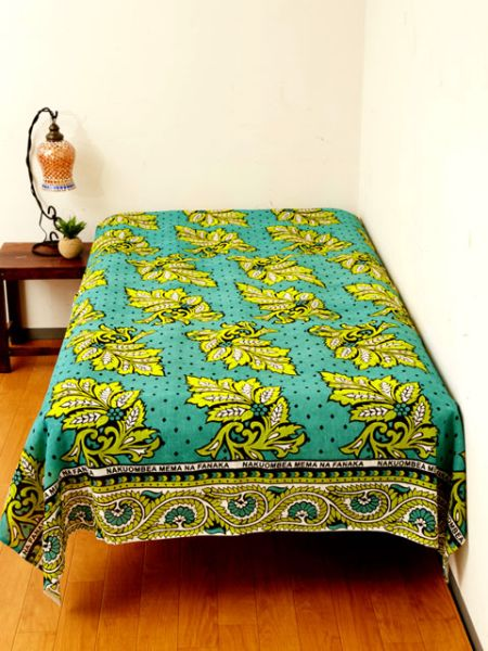 African Fabric Pattern Bed Cover Multi Cloth-Ametsuchi