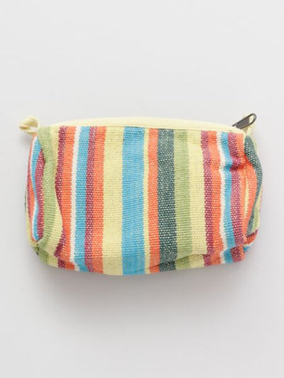 Nepalese Hand Woven Cotton Pouch-Bags & Purses-Ametsuchi