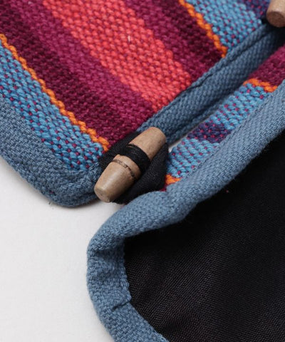 Hand Woven Fabric Toilet Paper Holder-Ametsuchi