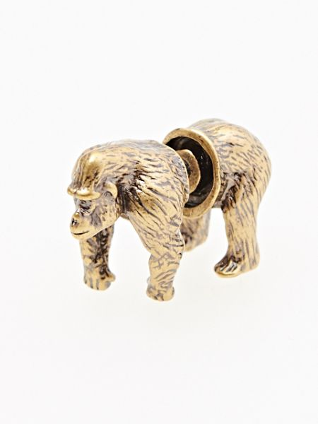 3D Animal Earring (1pc)-Ametsuchi