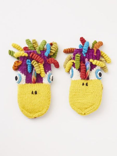 Hand Knitted Animal Gloves-Ametsuchi