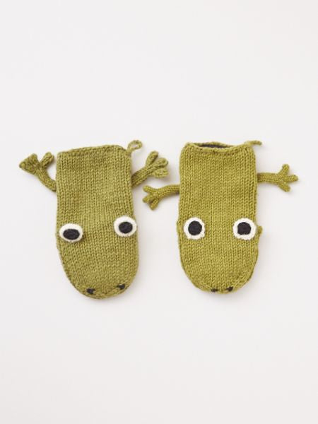 Hand Knitted Animal Gloves-Gloves-Ametsuchi