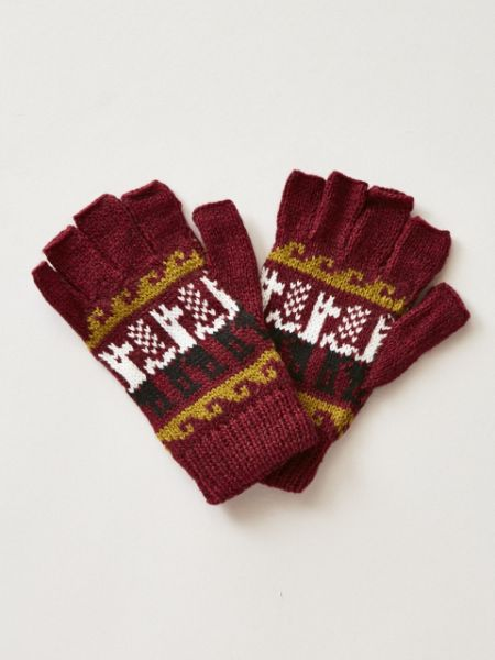 Alpaca Knitted Gloves