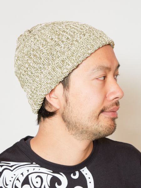 Nepal Made Knitted Cotton Beanie-Ametsuchi
