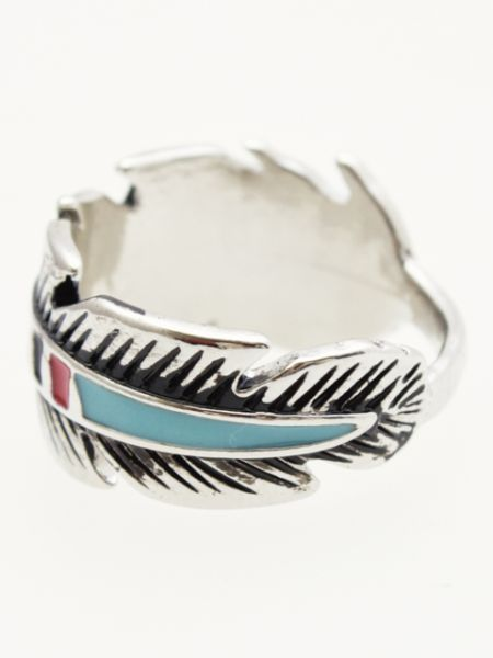Feather Men's Ring FeatherMEN'S ring