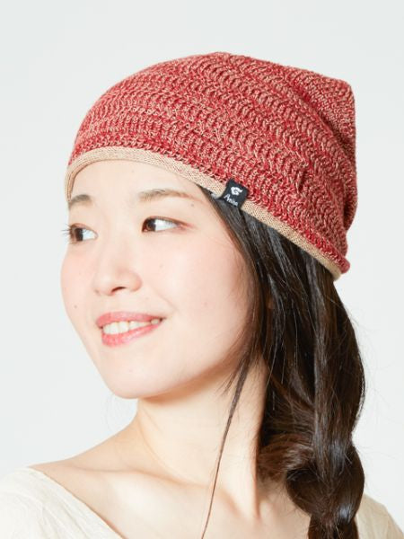Unisex Cotton Mix Beanie-Caps & Topi-Ametsuchi
