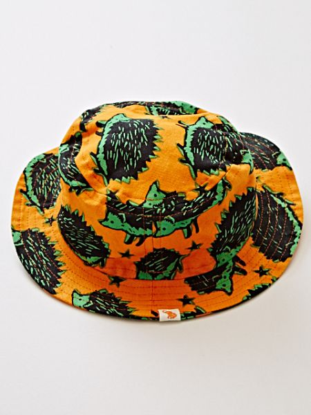 African Fabric Inspired Animal Print Kid's Hat-Ametsuchi