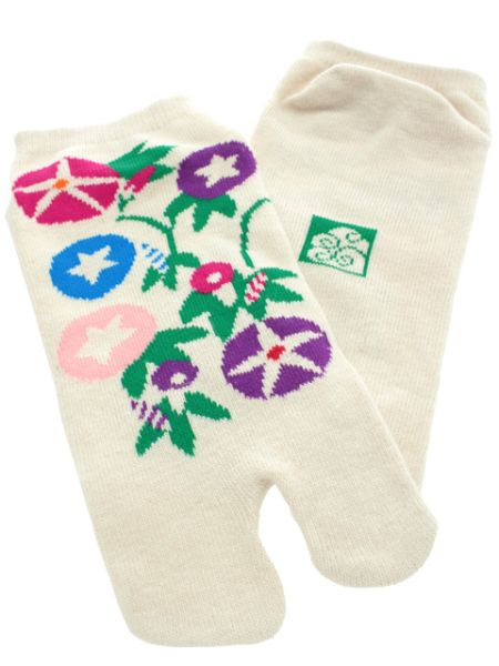 Morning Glory TABI Socks - 23-25cm