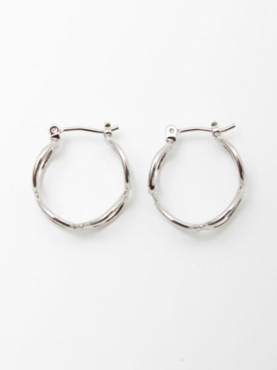 Infinity Hoop Metal Earrings