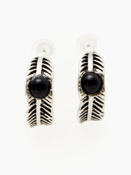 Anting-Anting Feather Hoop-Ametsuchi