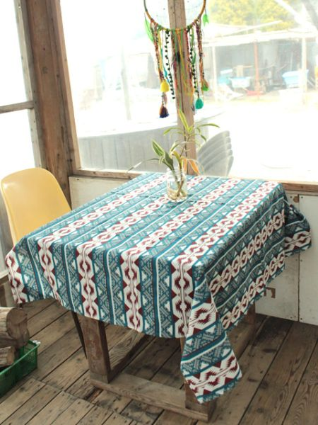 Navajo Pattern Table Cloth-Articles de cuisine-Ametsuchi