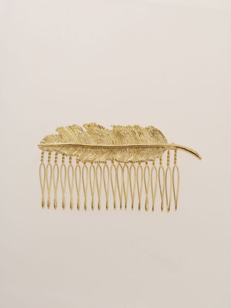 Feather Hair Comb-Ametsuchi