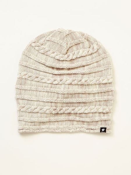 Knitted Acrylic 2way Unisex Beanie