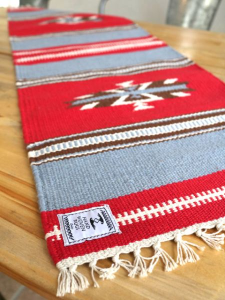 Navajo Pattern Table Runner - Peralatan Dapur-Ametsuchi