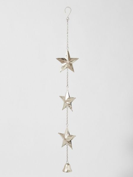 Metal Star Bell Wall Hanging-Ametsuchi