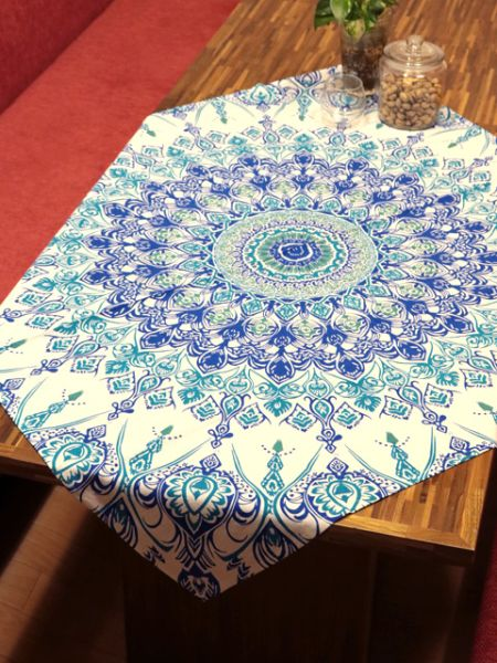 Blue Table Cloth-Kitchen Goods-Ametsuchi