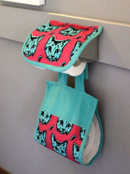 Animal Pattern Toilet Paper Holder Cover -Bathroom-Ametsuchi