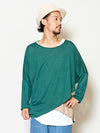Knit Sew Layered Top-Tops-Ametsuchi