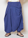 Plain Nepali Cotton Unisex Harem Pants-Pants & Shorts-Ametsuchi