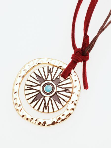 Navajo Inspired Necklace -Necklaces-Ametsuchi