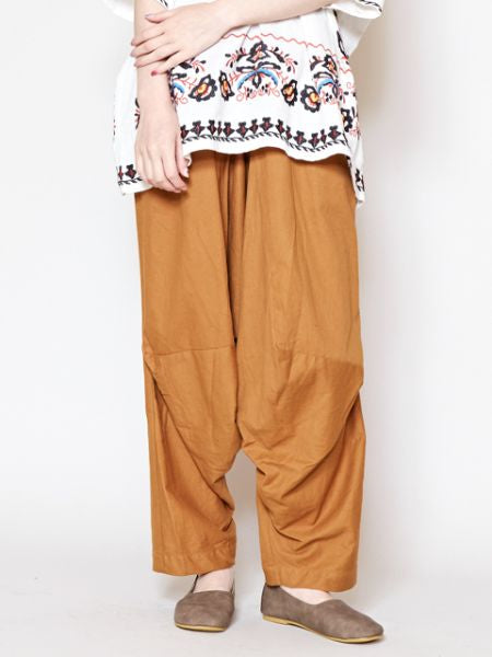 Indian Cotton Unisex 3D Harem Pants-Ametsuchi