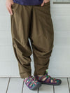 Indian Cotton Men's 3D Harem Pants-Pants & Shorts-Ametsuchi