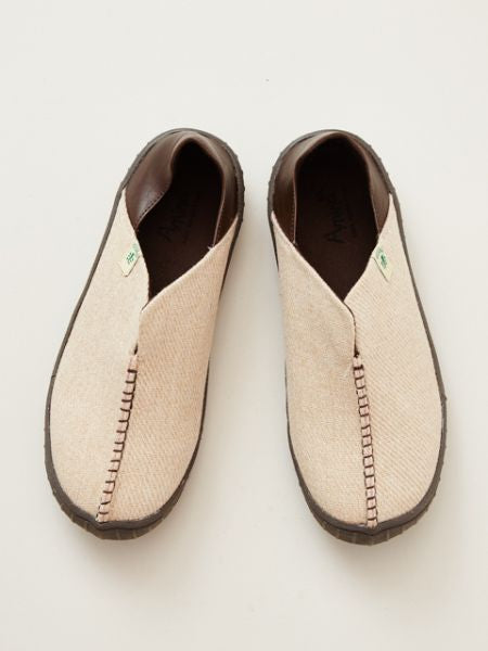 Folklore Slip On Shoes -Shoes-Ametsuchi