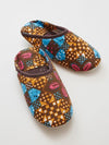 African KITENGE Pattern Room Shoes -Others-Ametsuchi