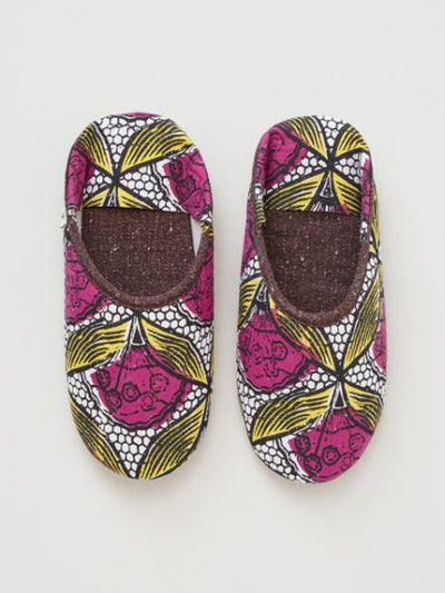 African KITENGE Pattern Room Shoes-Others-Ametsuchi