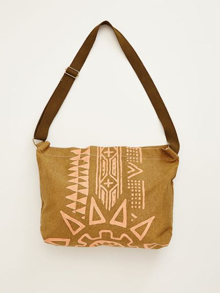 Geometric Pattern Shoulder Bag-Bags & Purses-Ametsuchi
