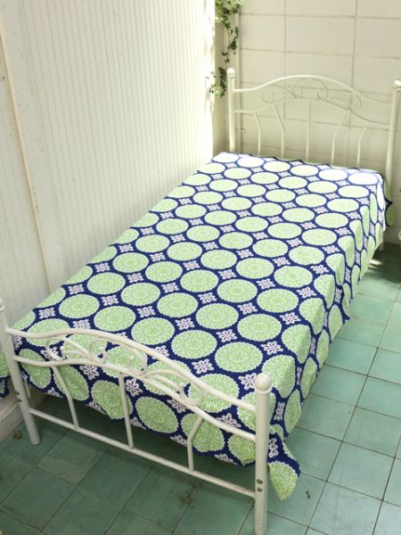 Retro Diilhamkan Bohemian Bed Cover Wall Hanging-Bed Linens-Ametsuchi