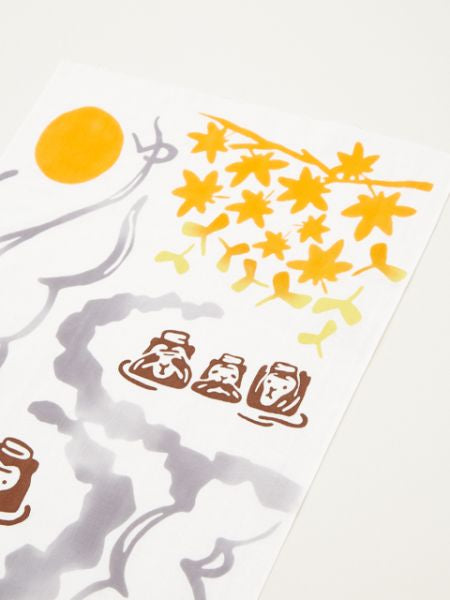 Hot Spring Monkey TENUGUI Towel -Others-Ametsuchi