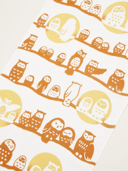 Owl TENUGUI Towel -Others-Ametsuchi