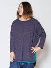 Knit Sew Top & Inner Tee Set of 2-Tops-Ametsuchi