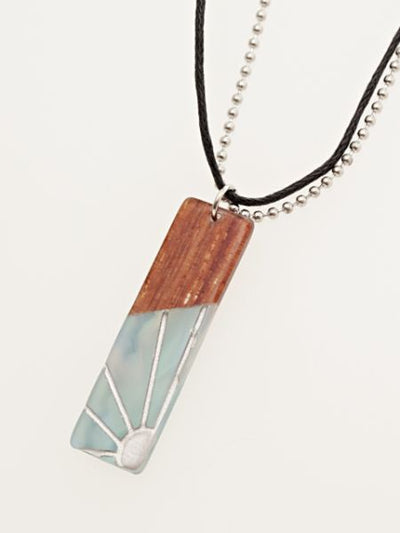 Sun Wave Necklace-Ametsuchi