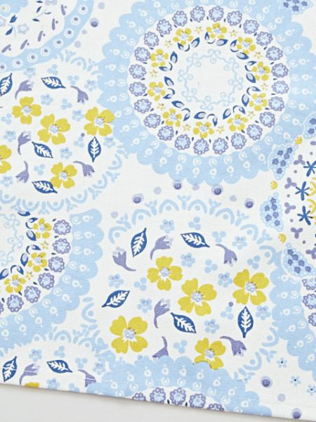 Printed Polish Pottery Pattern Placemat