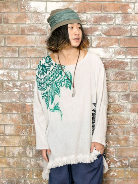 Bunga-bunga Tribal Top-Tops Top-Ametsuchi