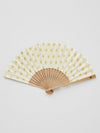 ASA Pattern Foldable SENSU Fan with Pouch-Ametsuchi