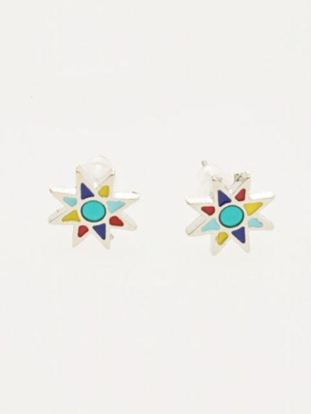 Solstud Earrings -Earrings-Ametsuchi