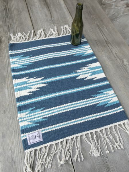 Hand Woven Navajo Pattern Placemat-Kitchen Goods-Ametsuchi