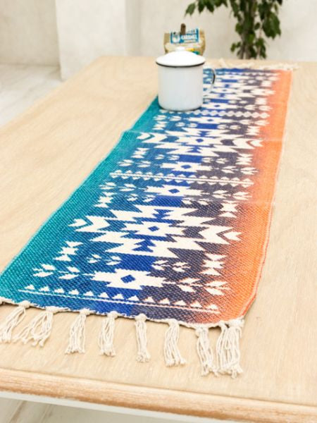 Navajo Pattern Table Runner-Ametsuchi