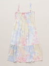 Ocean Color Tie Dye Kid's Cami One Piece Dress-Clothing-Ametsuchi