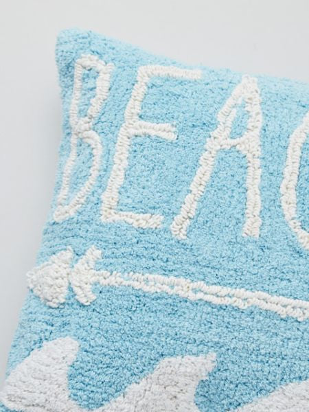 Beach Arrow Pile Fabric Pillow Case