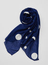 Dot Embroidery Scarf-Scarves-Ametsuchi