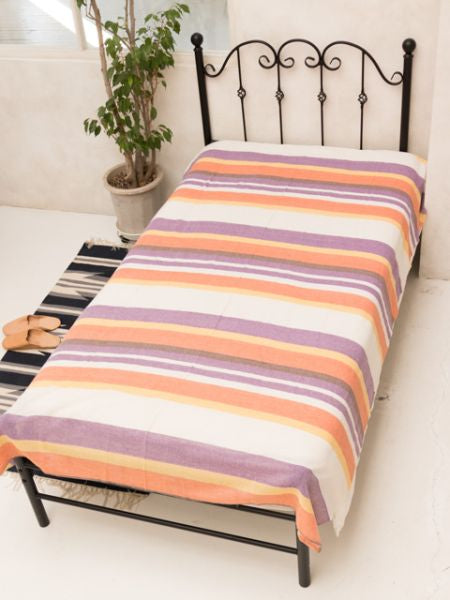 Maghribi Stripe Multi Cloth-Bed Linens-Ametsuchi