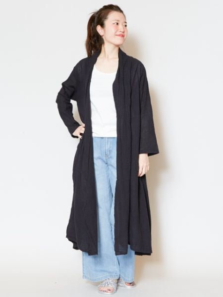 Simple Boho Maxi Cardigan-Ametsuchi