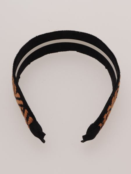 Geometric Pattern Hair Band