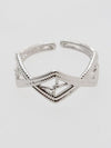 Diamond Shape Metal Toe Ring-Ametsuchi