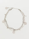 Maile Coin Anklet -Anklets-Ametsuchi