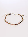 Stone silk anklets from October Tourmaline -Anklets-Ametsuchi